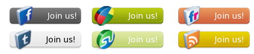 join-us-social-high-quality-button-set